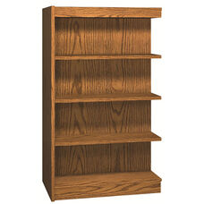 4-Shelf Double Sided Bookcase Adder