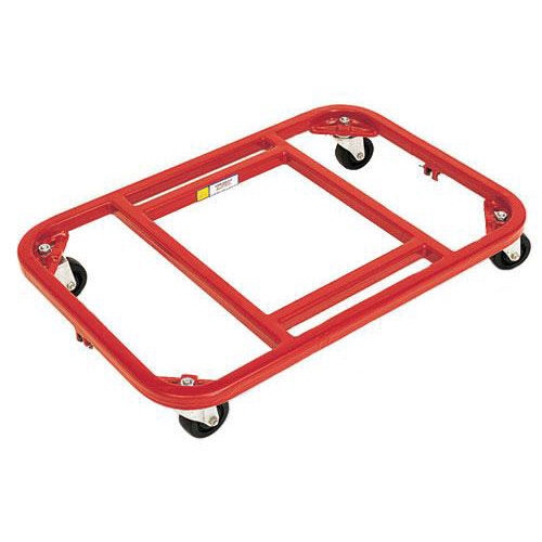 Our Steel Frame Royal Red Dolly with Vinyl Finish - 16
