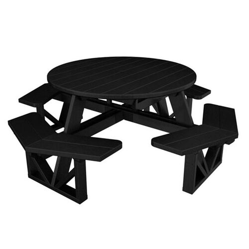 Our POLYWOOD® Commercial Collection Park Octagon Table - Black is on sale now.