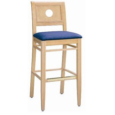 594 Bar Stool w/ Upholstered Seat - Grade 1