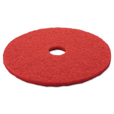 3M Red Buffer Floor Pads 5100 - Low-Speed - 20