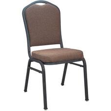 Advantage Premium Java Crown Back Banquet Chair