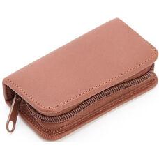 Deluxe Mini Manicure Kit- Top Grain Nappa Leather - Tan