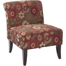 Ave Six Naomi Chair - Morgan Scarlett Merlot