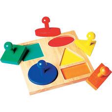 Geo Puzzle Board