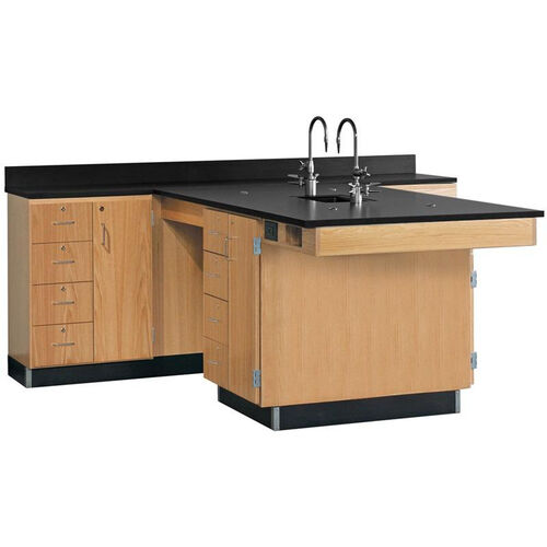 Our Perimeter Science Wooden Workstation with 1