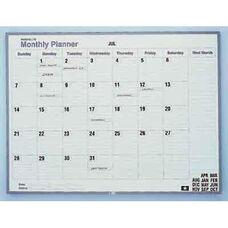 24''H x 36''W MagnaLite Monthly Planner