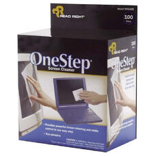 Read/Right One-Step Screen Cleaning Wipes - Pack Of 100