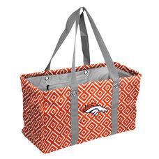 Denver Broncos Team Logo Double Diamond Picnic Carry All Caddy