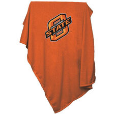 Oklahoma State University Team Logo Sweatshirt Blanket