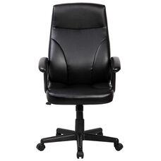 Techni Mobili Medium Back Manager Chair - Black