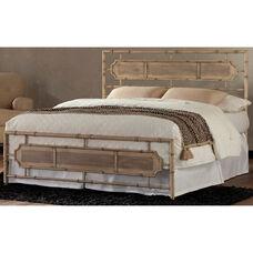 Laughlin Transitional Metal SNAP™ Bed - King - Desert Sand