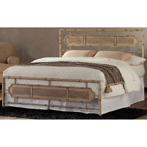Our Laughlin Transitional Metal SNAP™ Bed - King - Desert Sand is on sale now.