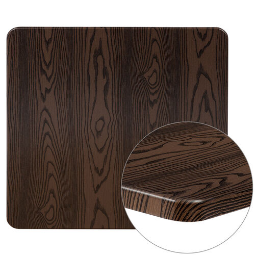 "Our 30"" Square Rustic Wood Laminate Table Top is on sale now."