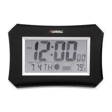 Lorell Wall/Alarm Clock - LCD - 10 -1/4