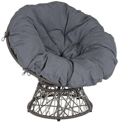 Our Bowie Comfort Series Swivel Patio Chair with Dark Gray Cushion is on sale now.