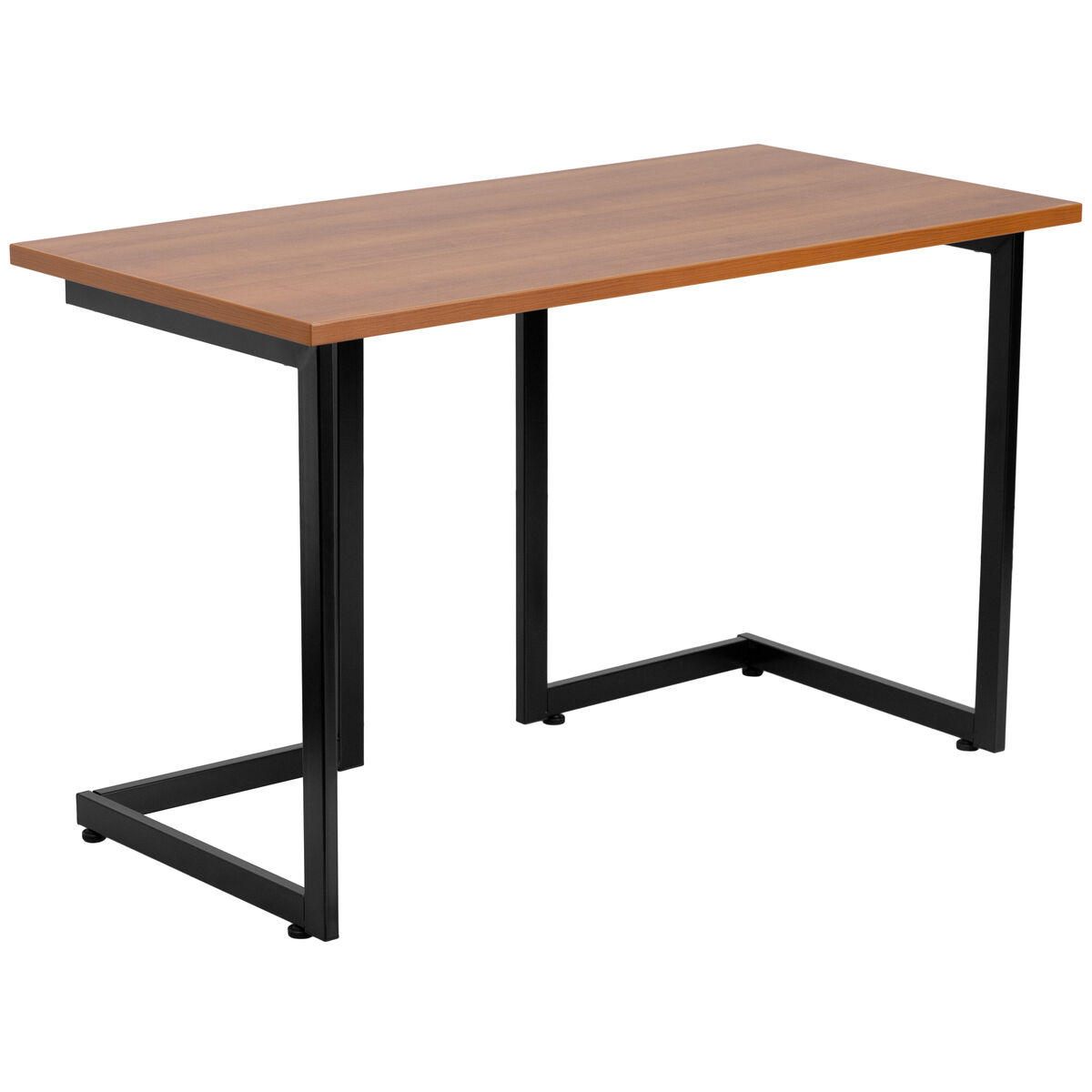 Our Cherry Computer Desk With Black Metal Frame Is On Now