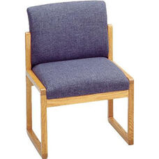 Tempe Series Armless Guest Chair with Sled Base