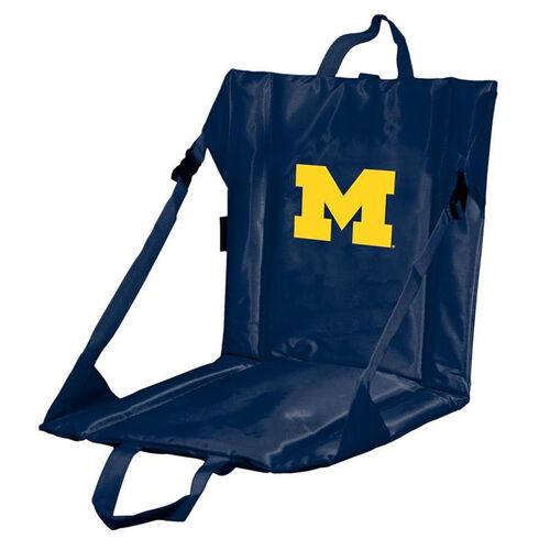Our University of Michigan Team Logo Bi-Fold Stadium Seat is on sale now.
