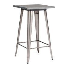 Olympia Bar Table in Gunmetal