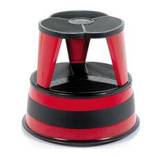 350 lb Capacity Kik Step Stool - Red