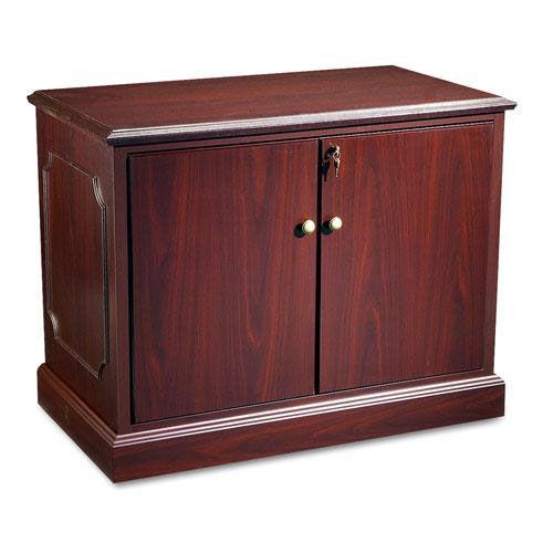 HON® 94000 Series Storage Cabinet - 37-1/2w x 20-1/2d x 29-1/2h - Mahogany