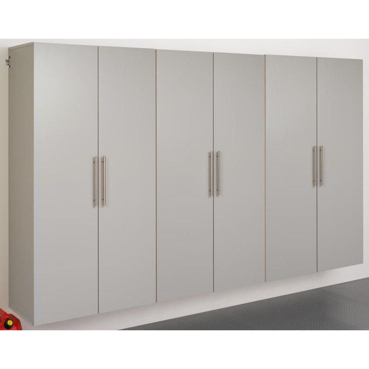 Our Hangups 108 Storage Cabinet Set E 3 Piece Cabinets Gray