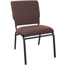 Advantage Java Multipurpose Church Chairs - 18.5 in. Wide