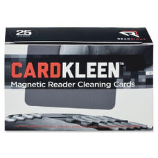 Read/Right Cardkleen - Pack Of 25