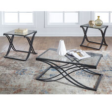 Signature Design by Ashley Jandor 3 Piece Occasional Table Set