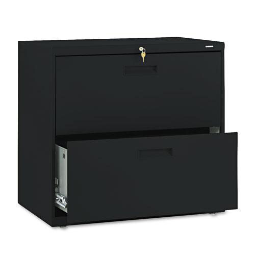 Our HON® 500 Series Two-Drawer Lateral File - 30w x 19-1/4d x 28-3/8h - Black is on sale now.