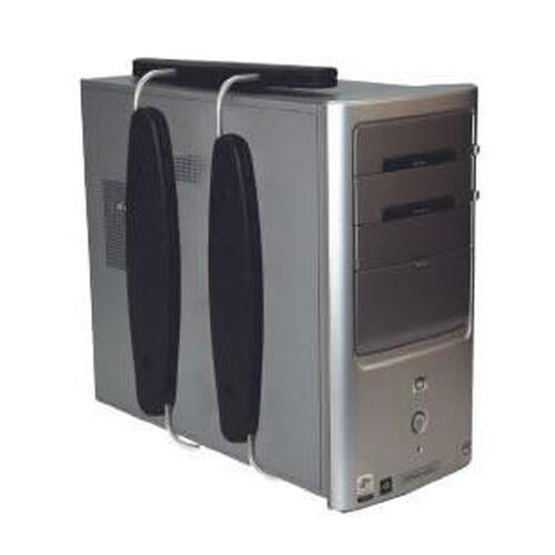 Our DOC Adjustable Space Saving Petite Vertical Aluminum CPU Holder - Black is on sale now.