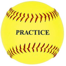 Practice Fast or Slow Pitch Softballs - 1 Dozen
