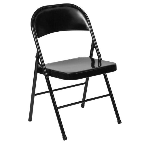 HERCULES Series Double Braced Metal Folding Chair