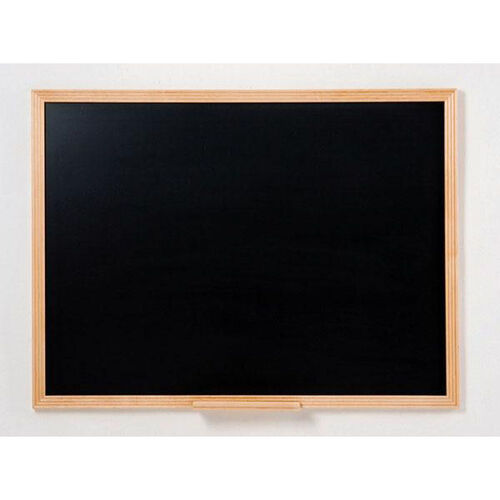 110 Series Chalkboard with Wood Frame - 72