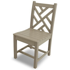 POLYWOOD® Chippendale Dining Side Chair - Sand