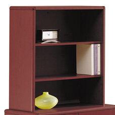 HON® 10700 Series Bookcase Hutch - 32 5/8w x 14 5/8d x 37 1/8h - Mahogany