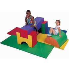 8 Piece Multicolor Junior Gym Set