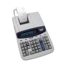 Victor Technology 12 Digit Calculator -2 Clr Printing -9