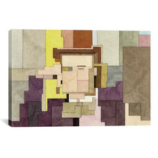 Willy Wonka by Adam Lister Gallery Wrapped Canvas Artwork