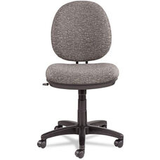 Alera® Interval Swivel/Tilt Task Chair - Tone-On-Tone Fabric - Graphite Gray