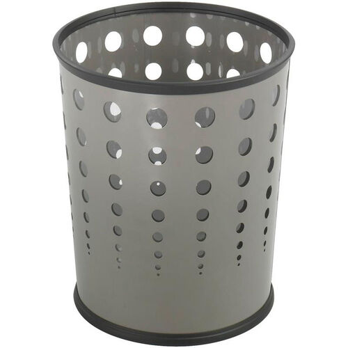 Our At-Your-Disposal® Puncture Resistant 6 Gallon Bubble Wastebaskets - Set of Three - Gray is on sale now.
