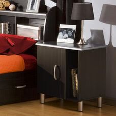 Cosmos Collection Night Stand in Black