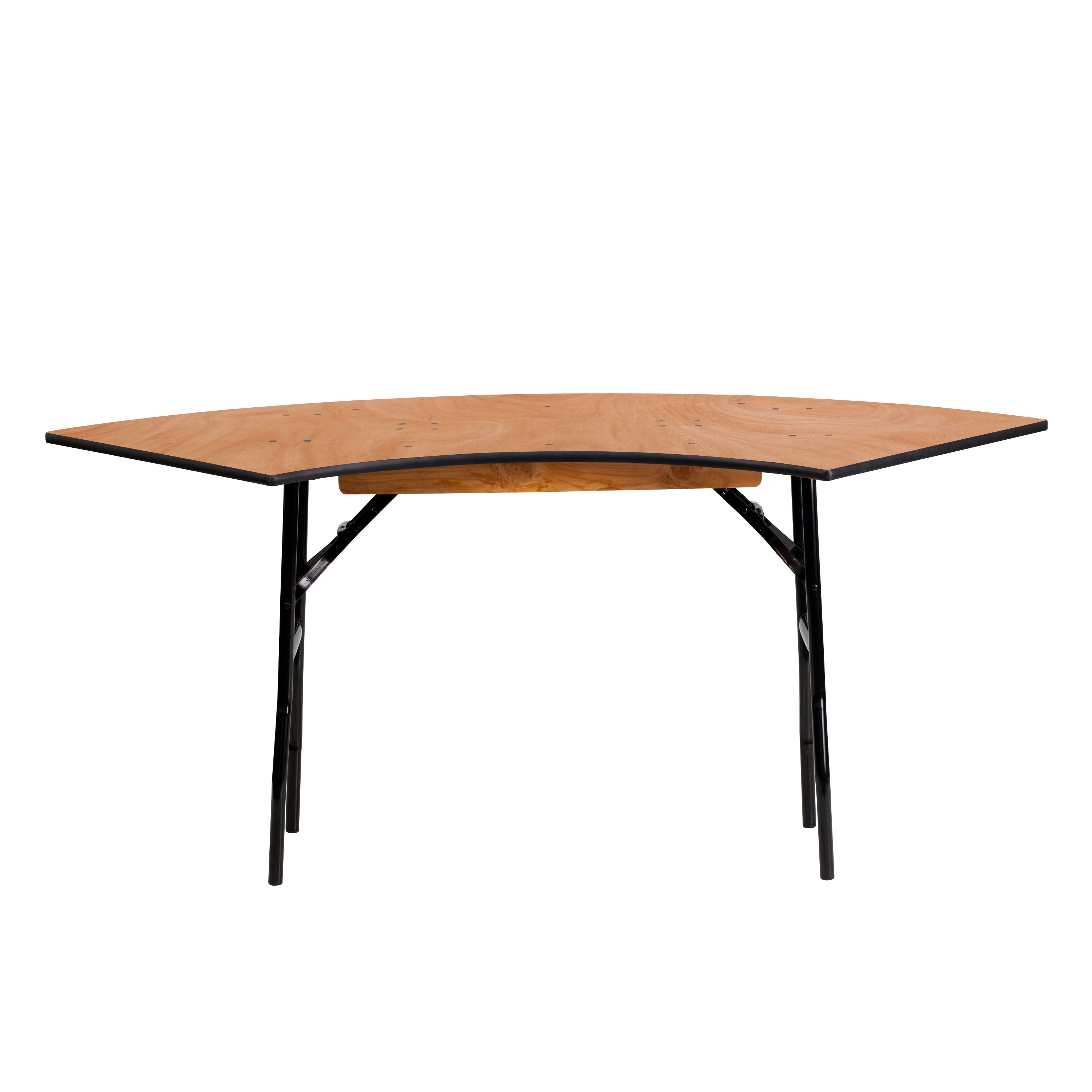 Exceptionnel Serpentine Wood Folding Banquet Table Is On Sale ...
