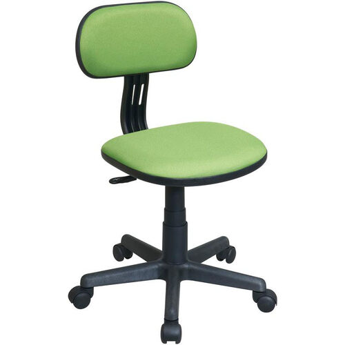 Our OSP Designs Armless Computer Task Chair with Seat Height Adjustment and Casters - Green is on sale now.