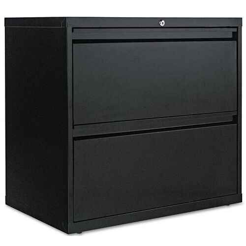 Our Alera® Two-Drawer Lateral File Cabinet - 30w x 19-1/4d x 28-3/8h - Black is on sale now.