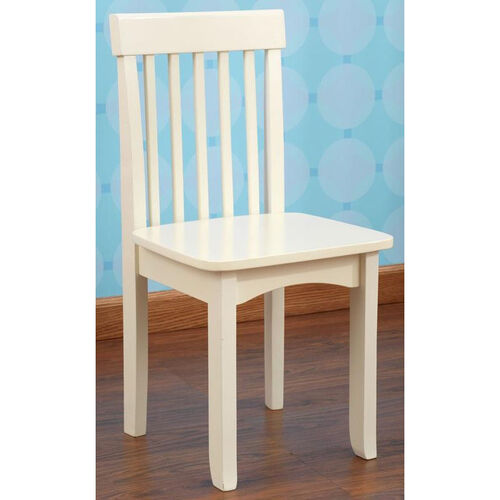 Avalon Classic Style Solid Wood Kids Chair - Vanilla