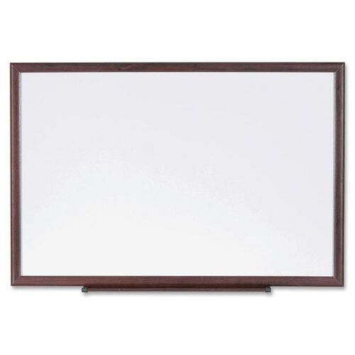 Lorell Dry -Erase Board - Wood Frame - 3