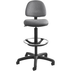 Precision Extended Height Chair with Foot Ring - Dark Gray