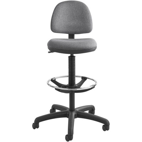 Our Precision Extended Height Chair with Foot Ring - Dark Gray is on sale now.